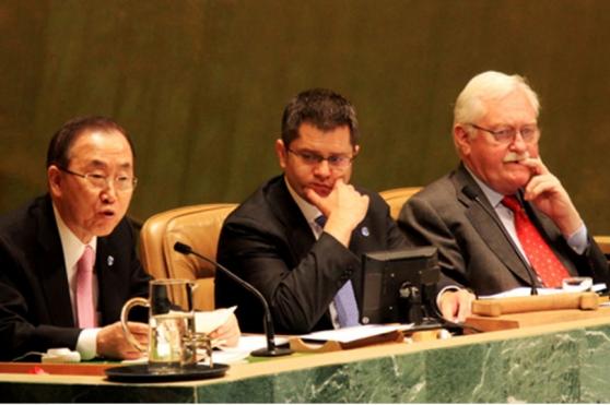 ผู้บริหาร TIJ ตามเสด็จฯ เข้าร่วมประชุมระดับนานาชาติด้านการค้ามนุษย์