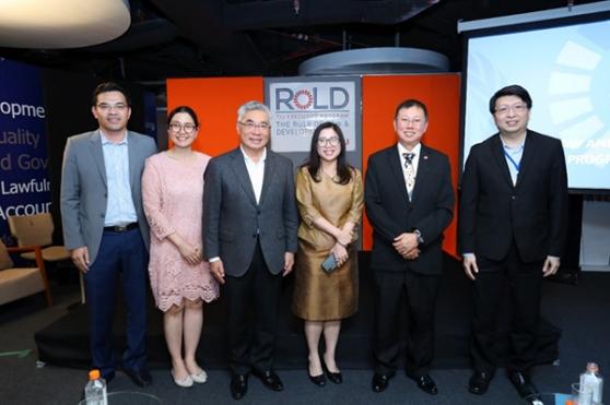ดร.บวรศักดิ์ บรรยายในหัวข้อ หลักนิติธรรมกับประชาธิปไตยไทย