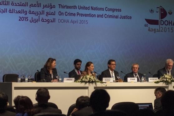 TIJ เข้าร่วมการประชุม 13th UN Crime Congress กรุงโดฮา รัฐกาตาร์