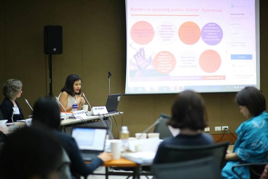 TIJ UNODC และ UN Women จัดอบรมความซับซ้อนและพลวัตของความรุนแรงต่อผู้หญิงและเด็กหญิง