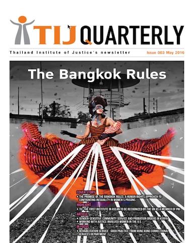 The Bangkok Rules [ May 2016 ]